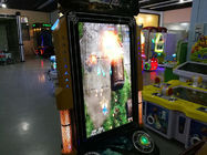 Street Fighter Arcade Video Game Machine 750 * 800 * 1600MM Size For 1 - 2 Players