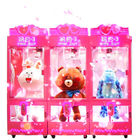 Luxury Cube Crane Claw Gift Vending Machine With 12 Months Warranty