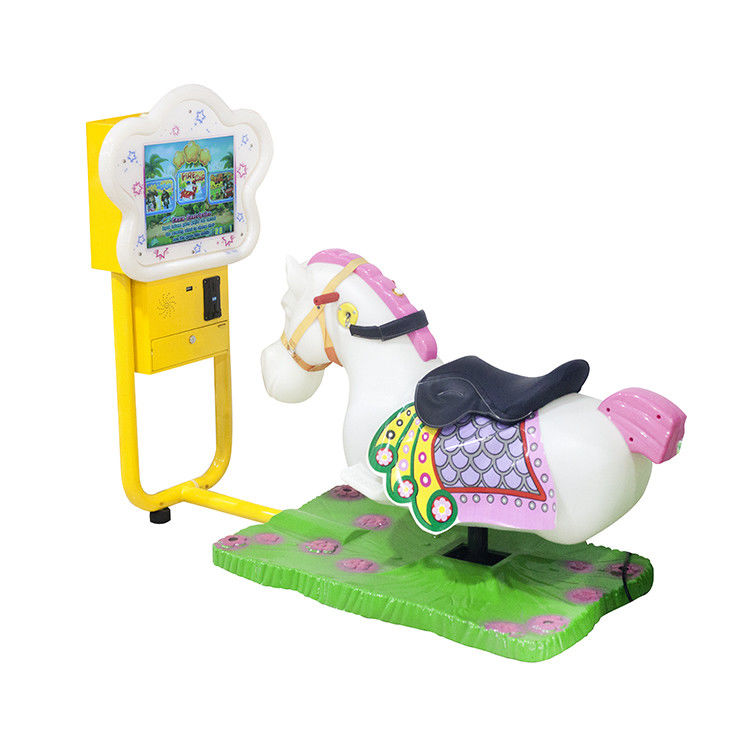 Amusement Park Mame Arcade Machine , Electric Video Kiddie Ride Car Kids Coin Machine